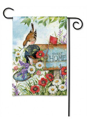 Sweet Home Garden Flag | Floral Flags | Spring Flags | Yard Flags | Flags
