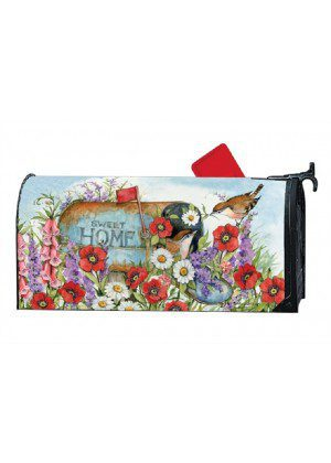 Sweet Home Mailbox Cover | Mailbox Covers | Decorative Mailwraps