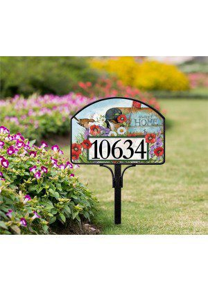 Sweet Home   Yard Sign   Address Plaques   Decorative Yard Signs