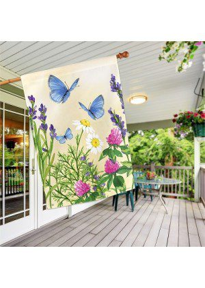 Sweet Summer House Flag   Summer Flags   Floral Flags   House Flags