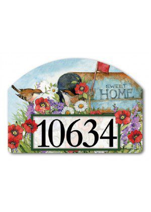 Sweet Home Yard Sign | Address Plaques | Yard Signs | Garden Decor