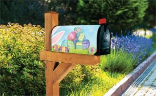 Where is the Bunny | Mailbox Cover | Mailbox Covers | Mailwraps