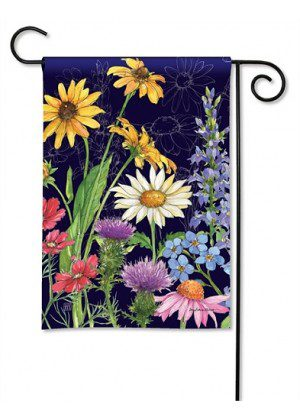 Wildflower Mix Garden Flag | Floral Flags | Spring Flag | Yard Flags