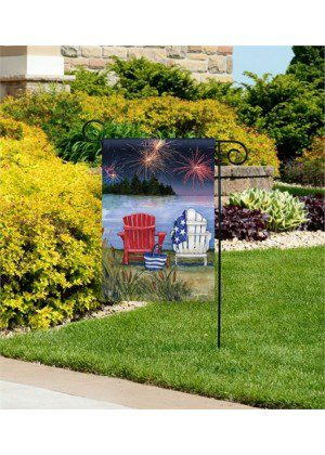 Lake View Garden Flag | Patriotic Flags | 4th of July Flags | Yard Flags