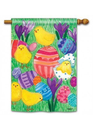 Chicky Babes House Flag | Easter Flags | Cool Flags | Yard Flags | Flags