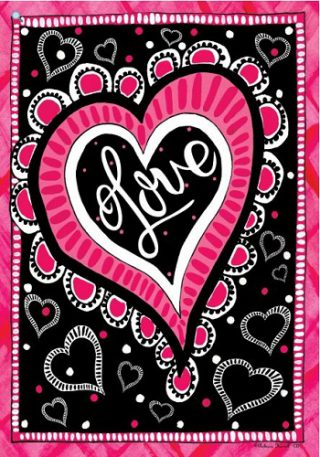 Love Heart Flag | Valentine's Day Flags | Flags | Cool Flags | Yard Flags