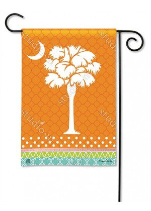 Preppy Palmetto Garden Flag | Nautical Flags | Spring Flags | Yard Flags