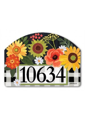 Autumn Blooms Yard Sign | Address Plaques | Yard Signs | Garden Decor