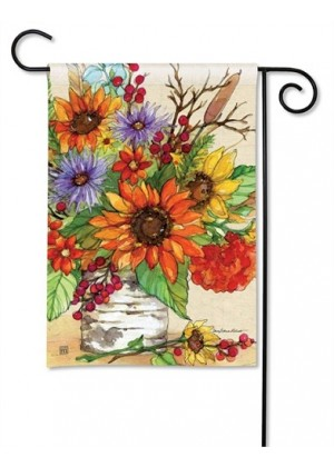 Autumn Glory Garden Flag | Fall Flags | Floral Flags | Garden Flags