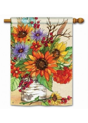 Autumn Glory House Flag | Fall Flags | Floral Flags | Yard Flags