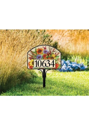 Autumn Glory Yard Sign | Address Plaques | Yard Signs | Garden Decor