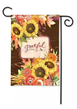 Grateful Bouquet Garden Flag | Thanksgiving Flags | Inspirational Flags