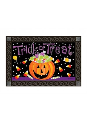 Halloween Candy Doormat | Doormats | MatMates | Decorative Doormats
