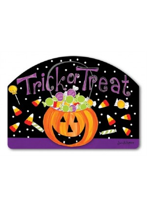 Halloween Candy Yard Sign | Address Plaque | Yard Signs | Garden Decor