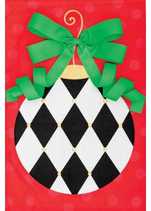Harlequin Ornament Flag | Applique Flags | Christmas Flags | Cool Flags