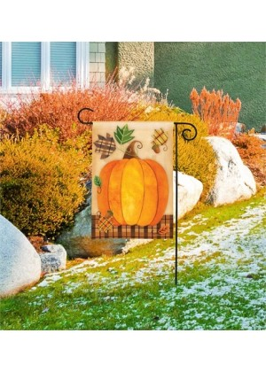 Mad for Plaid Garden Flag | Fall Flags | Floral Flags | Garden Flags