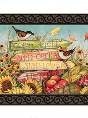 Signs of Fall Doormat | Doormats | MatMates | Decorative Doormats