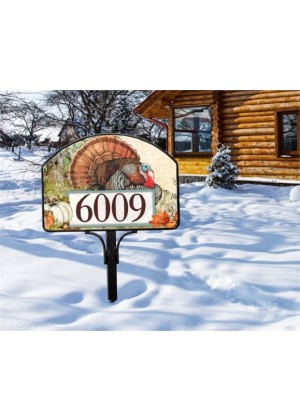 Turkey Yard Sign | Address Plaques | Yard Signs | Garden Decor