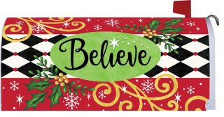Believe Mailbox Cover | Mailbox Covers | Mailwraps | Mail Box Covers