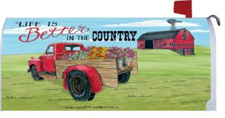 Better in the Country Mailbox Cover | Mailbox Covers | Mailbox Wraps