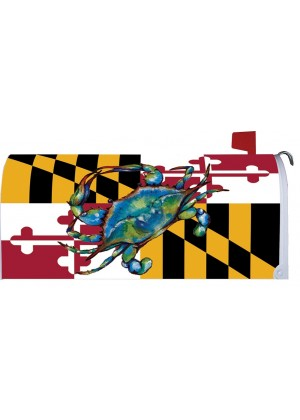 Blue Crab Maryland Mailbox Cover | Mailbox Cover | Decorative Mail Wrap