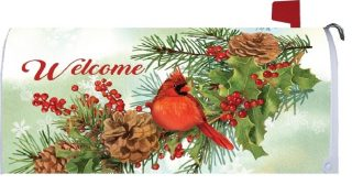 Cardinal & Pines Mailbox Cover   Mailbox Covers   MailWraps   Mail Wraps
