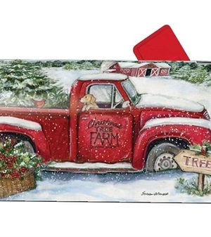 Christmas Tree Farm Mailbox Cover | Mailbox Covers | MailWraps