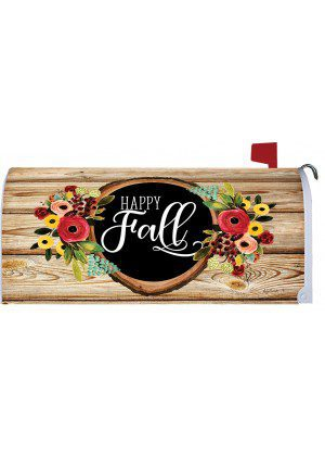 Fall Floral Wreath Mailbox Cover | Mail Box Covers | Mailwraps | Mail Wrap