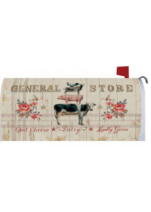 Farm Stack Mailbox Cover | Mailbox Covers | Mailbox Wraps | Mail Wraps