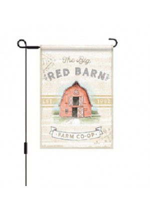 Farmhouse Garden Flag | Farmhouse Flag | Two Sided Flag | Garden Flag