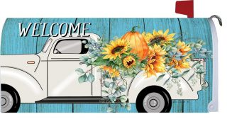 Floral Truck Mailbox Cover | Mail Box Covers | Mailwraps | Mail Wraps