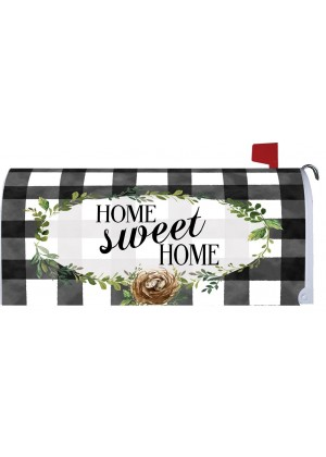 Gingham Home Mailbox Cover | Mailbox Covers | Mailbox Wrap | Mailwrap