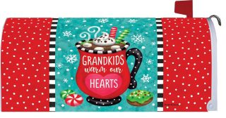 Grandkids Cocoa Mailbox Cover | Mailbox Covers | Mailwraps | Mail Wraps