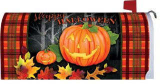 Halloween Jack Mailbox Cover | Mailbox Covers | Mailwraps | Mail Wraps