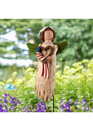 Liberty Garden Angel | Decorative Angels | Garden Angels | Garden Decor