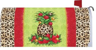 Pineapple Christmas Mailbox Cover | Mailbox Covers | Mailwraps