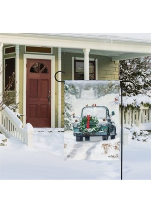 Snowy Roads Doormat | Doormats | MatMates | Decorative Doormats