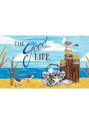 The Good Life Doormat | Doormats | Decorative Doormats | Door Mats