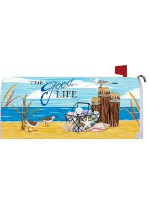 The Good Life Mailbox Cover | Mailbox Covers | Mailbox Wraps | Mailwrap