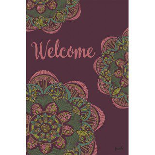 Valentina Garden Flag | Welcome Flags | Two Sided Flags | Floral Flags