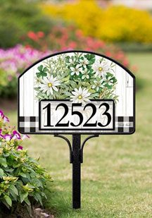 Magnetic Yard & Address Signs