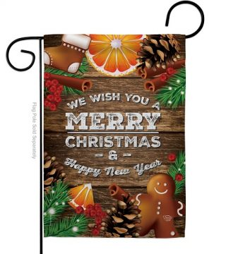 Christmas Spirit Garden Flag | New Year's Flags | Garden Flags | Yard Flag