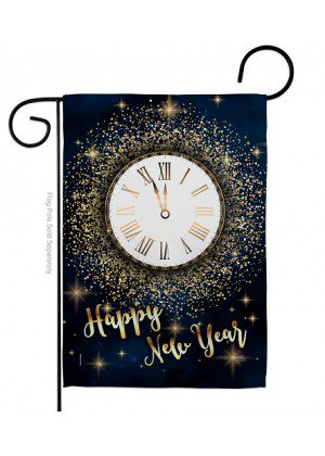 Countdown New Year Garden Flag | New Year's Flags | Garden Flag | Flag