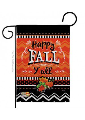 Happy Fall Garden Flag | Fall Flags | Yard Flags | Double Sided Flags