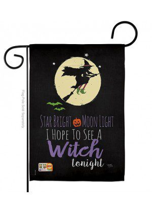 Star Bright Garden Flag | Halloween Flags | Two Sided Flags | Cool Flags
