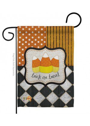Trick-or-Treat Garden Flag | Halloween Flags | Two Sided Flags | Yard Flag
