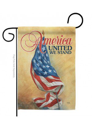 America United Garden Flag | Patriotic Flags | Garden Flags | Cool Flags