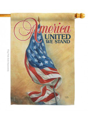 America United House Flag | House Flags | Patriotic Flags | Cool Flags
