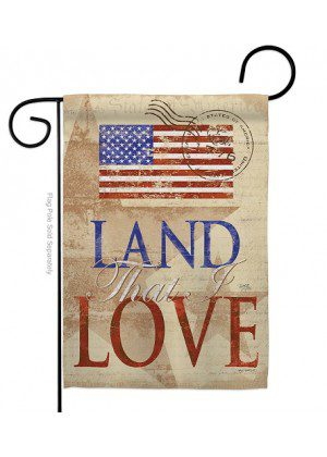 Land That I Love Garden Flag | Patriotic Flags | Garden Flags | Cool Flags