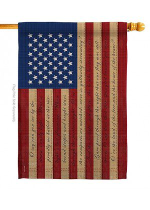Star Spangled House Flag | House Flags | Patriotic Flags | Cool Flags